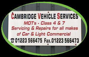 Cambridge Vehicle Services Outside 992x642