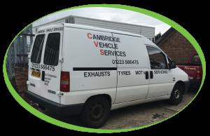 Cambridge Vehicle Services Van 992x642