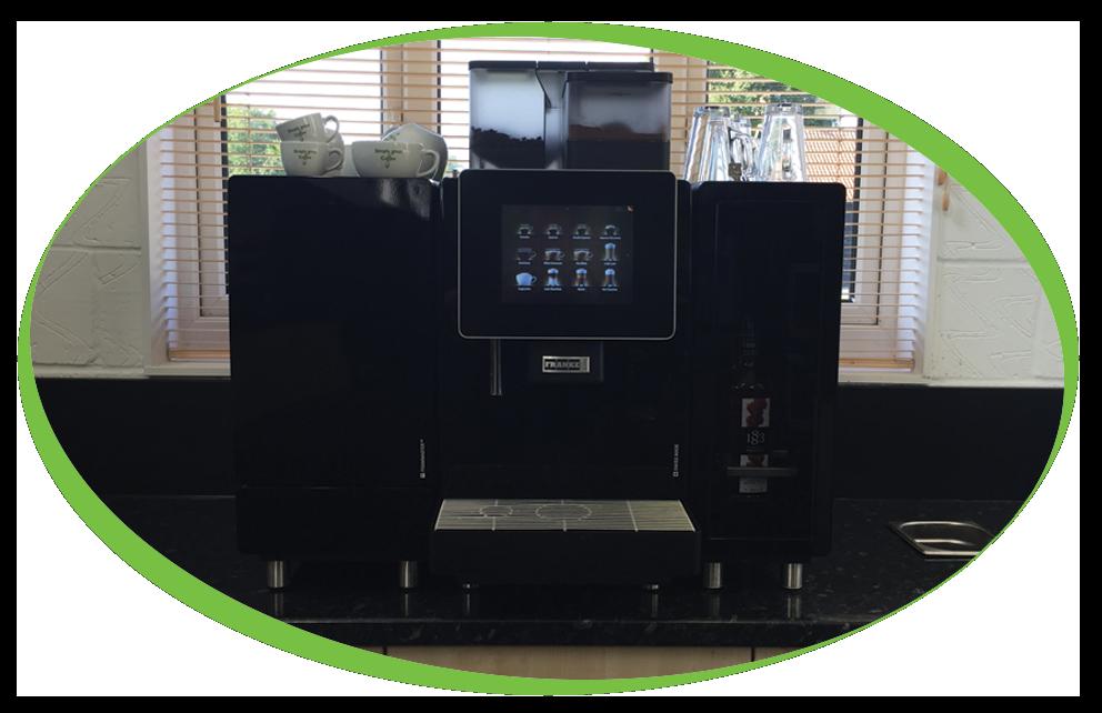 Franke machine at showroom simply great coffee - Franke showroom ...